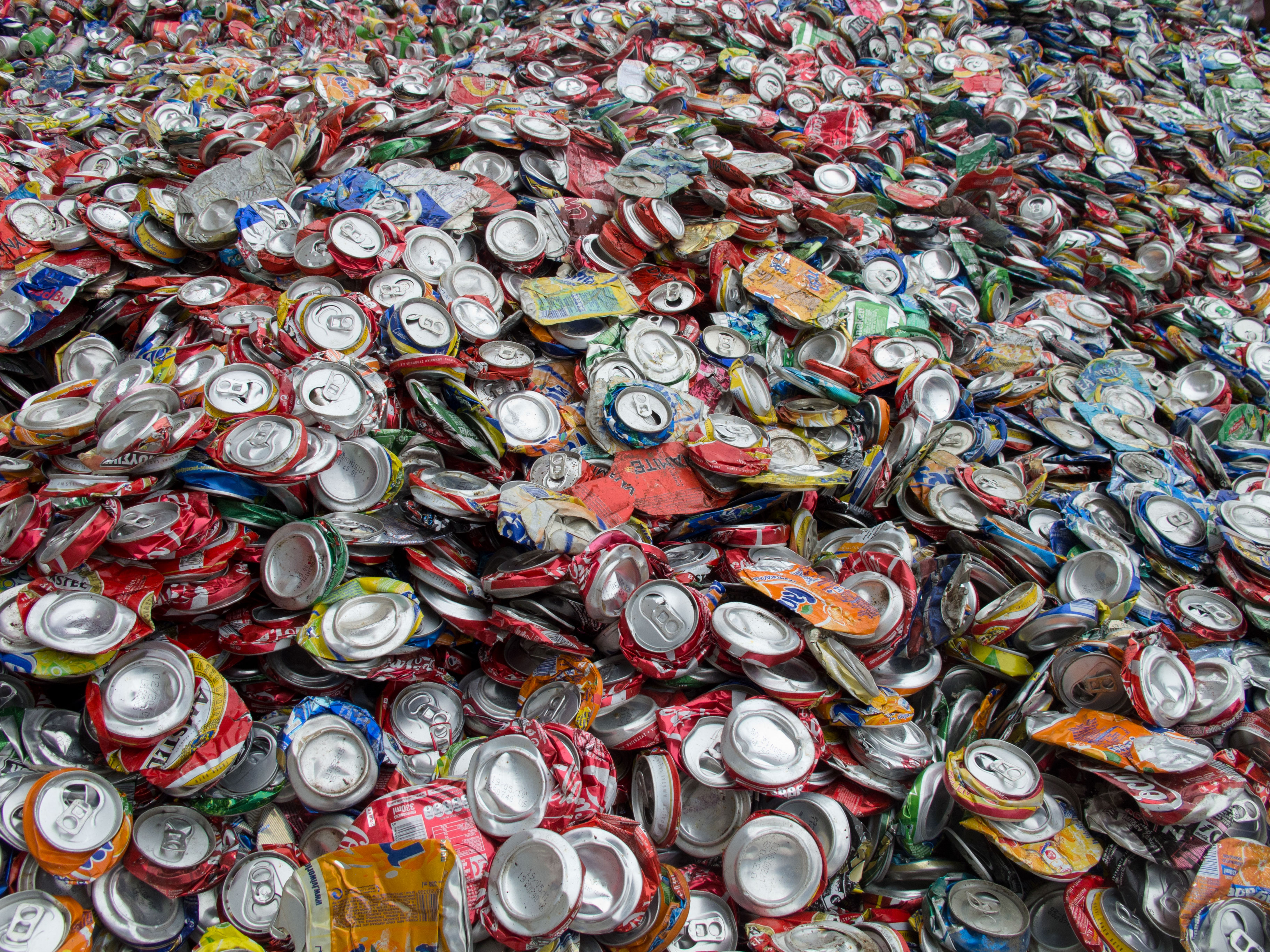 recycling aluminum can drop-off