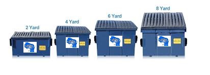 temporary dumpster rental front-load group